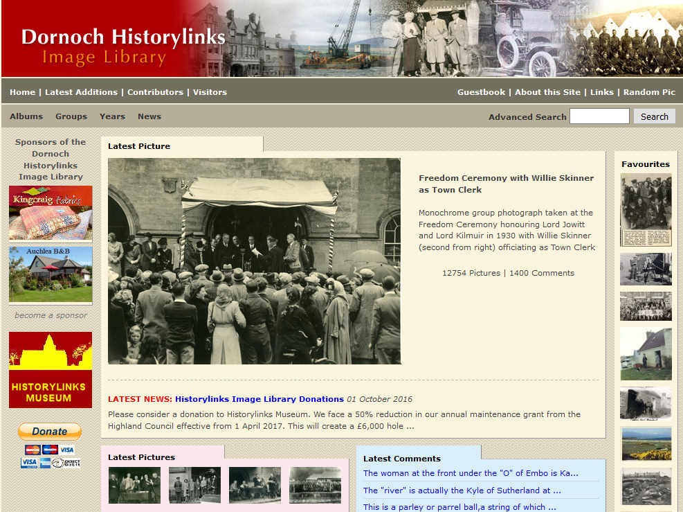 Historylinks Image Library